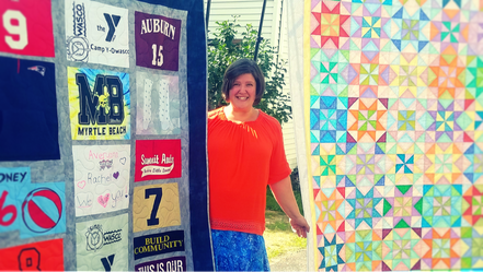 Quilts by Commission Owner Stephanie McCall